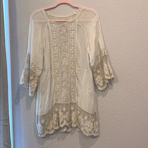 Johnny Was Embroiderd Tunic